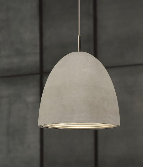 Concrete pendant large