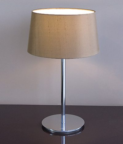 Ola sepia brown table lamp
