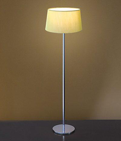 Ola lime green floor lamp