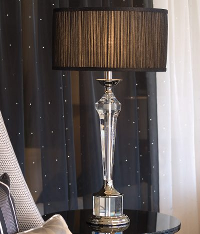 Crystal Table Lamps Viore Design Luxe Range